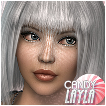Candy Layla Themed Hair Sveva