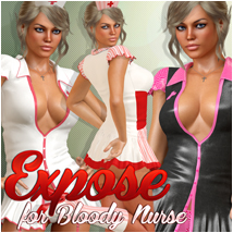 Expose for Bloody Nurse 3D Figure Essentials Atenais