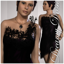 Dreamy Dress for V4 Themed Clothing jonnte