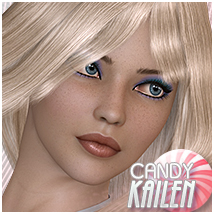 Candy Kailen 3D Figure Essentials Sveva