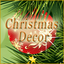 OB-Christmas Decor 2D And/Or Merchant Resources olbor