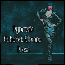 Dynamic Cabaret Kimono Dress 3D Figure Essentials SynfulMindz