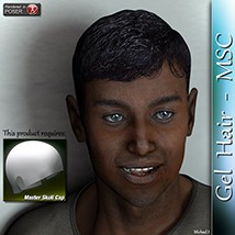 Gel Hair -MSC 3D Figure Essentials 3Dream