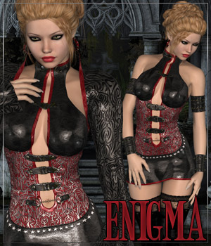 ENIGMA for Black Rose Themed Clothing Anagord