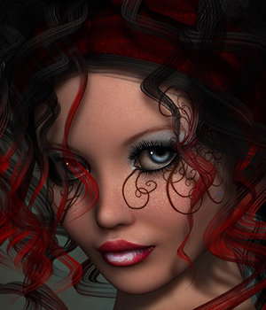 Dollz Trimbel 3D Figure Assets 3DSublimeProductions