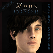 Boys Next Door 3D Figure Essentials Balivandi