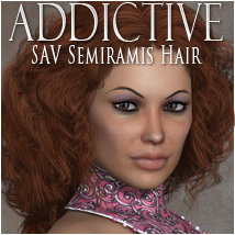 Addictive Semiramis 3D Figure Essentials 3D Models OziChick