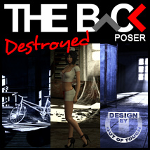 THE BACK Destroyed - POSER 3D Models Software outoftouch