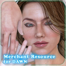 Merchant Resource for Dawn by Hivewire 3D 2D And/Or Merchant Resources Characters _Fenrissa_
