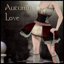 Autumn Love 3D Figure Assets 3D Models Propschick