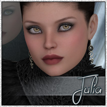 SV7 Julia 3D Models 3D Figure Essentials Seven