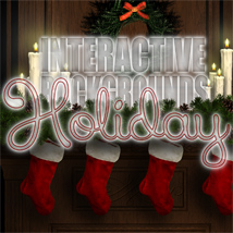 Interactive Backgrounds: Holidays 2D Graphics Lasukie
