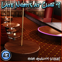 i13 Late Nights at CLUB 9 3D Models ironman13