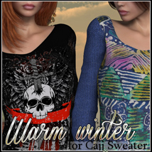 Warm Winter for Cajj Sweater 3D Figure Essentials FrozenStar