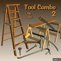 Tool Combo 2 3D Models pappy411