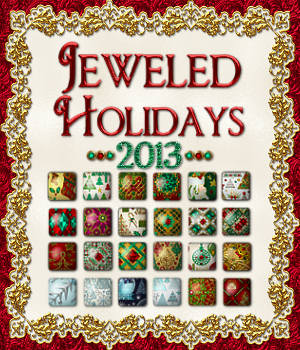 Jeweled Holidays 2013 Layer Styles 2D 3D Models fractalartist01