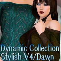 Dynamic Collection - Stylish V4/Dawn 3D Figure Assets kaleya