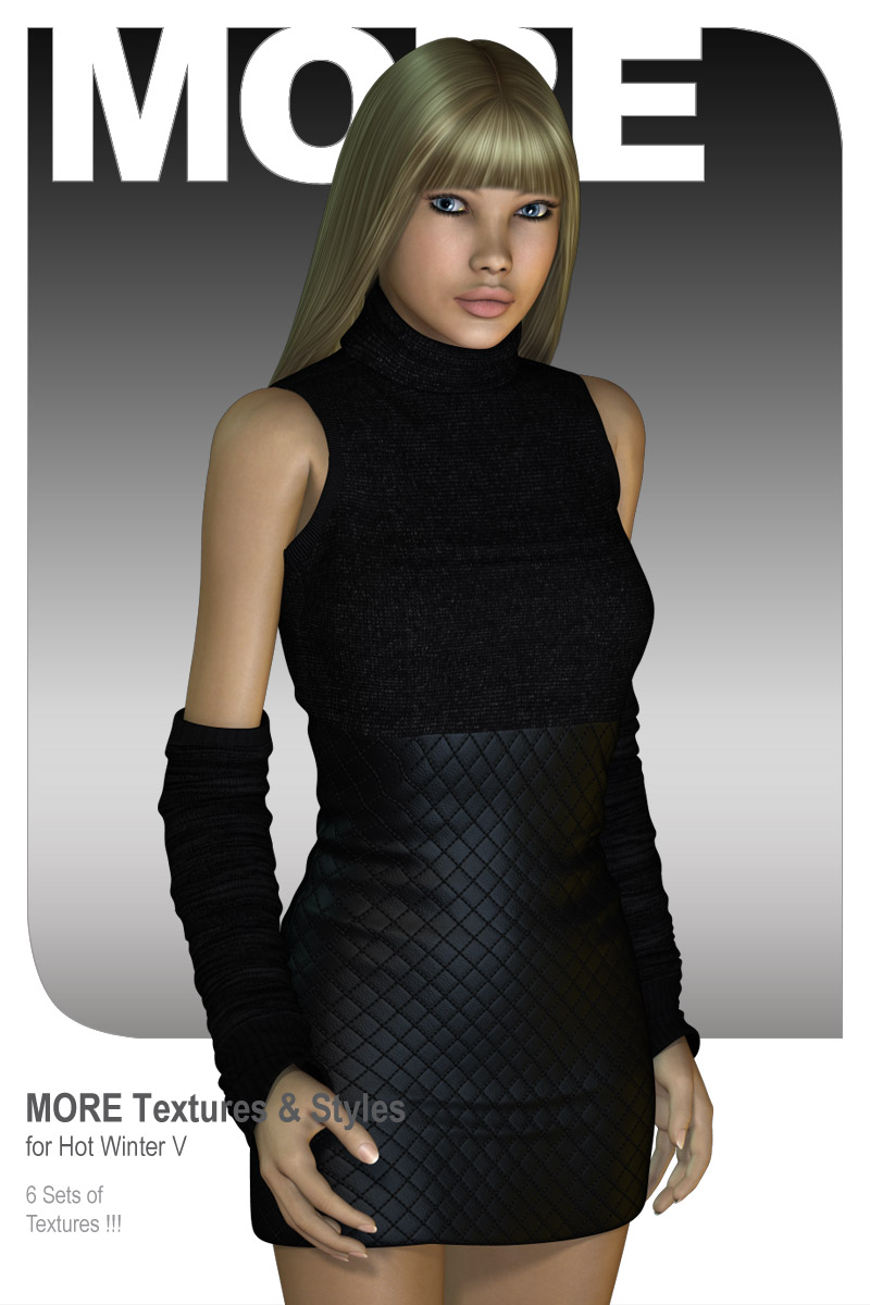 MORE Textures & Styles for Hot Winter V by motif