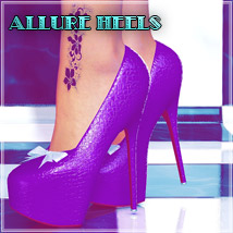 Allure Heels 3D Figure Essentials SynfulMindz