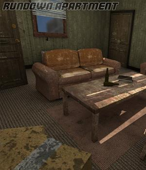 Rundown Apartment 3D Models Imaginary_House