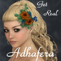 Get Real for Adhafera Hair 3D Models 3D Figure Essentials chrislenn