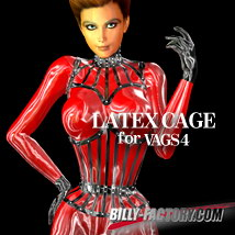 V4 LATEX CAGE 3D Figure Assets billy-t