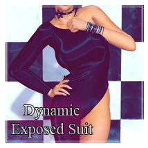 Dynamic Exposed Suit Clothing SynfulMindz