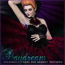 Daydream Feathers & Poses by -dragonfly3d-