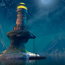Smugglers lighthouse 3D Models 1971s