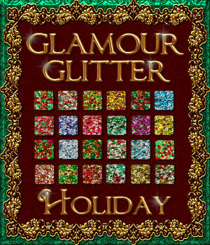 BLING! GLAMOUR GLITTER-Holiday 2D Graphics fractalartist01
