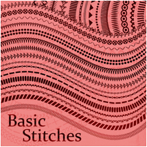Basic Stitches 2D Atenais
