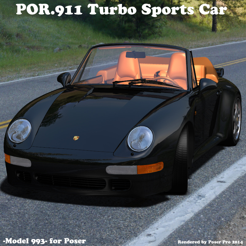 POR.911 Turbo Sports Car (model 993)