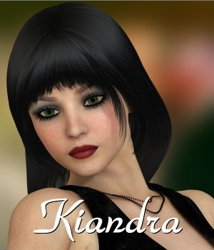 Kiandra for V4 3D Figure Assets chrislenn