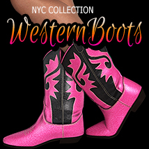 NYC Collection: Classic Western Boots Footwear 3DSublimeProductions