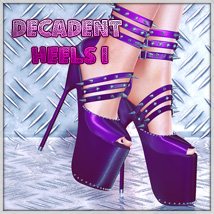 Decadent Heels I 3D Figure Essentials SynfulMindz
