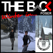 Winter in THE BACK - POSER Software 3D Models outoftouch
