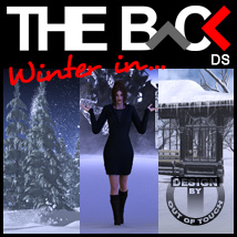 Winter in THE BACK - DAZ Studio 3D Models Software outoftouch