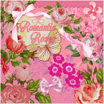 Romantic Roses 2D Graphics Atenais