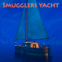 Smugglers yacht Transportation Themed 1971s