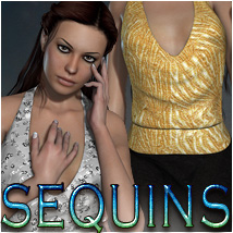 Sequins for Classy Jumpsuit 3D Figure Essentials OziChick