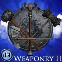 i13 Weaponry 2 3D Models ironman13