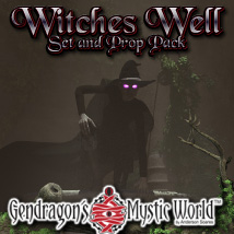 G3D Witches Well Props/Scenes/Architecture Razor42