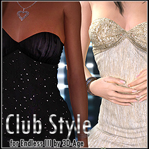 Club Style for Endless III Clothing FrozenStar