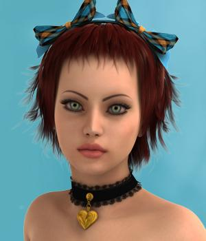 Kono for Genesis 2 Female Hair Software SWAM