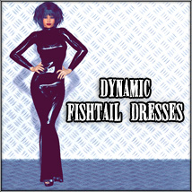 Dynamic Fishtail Dresses 3D Figure Essentials SynfulMindz