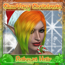 GlowVary Christmas for Rahnya Hair Themed Hair Tarot