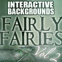 Interactive Backgrounds: Vol2 -  Fairly Fairies 2D Graphics Hinkypunk