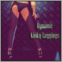 Dynamic Kinky Leggings 3D Figure Essentials SynfulMindz