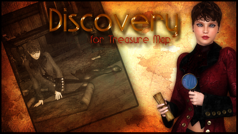 Discovery For Treasure Map by lunchlady