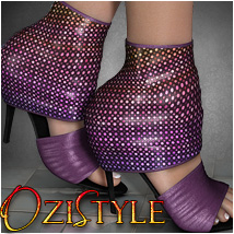 OziStyle: Alexis Shoes 3D Figure Essentials 3D Models OziChick